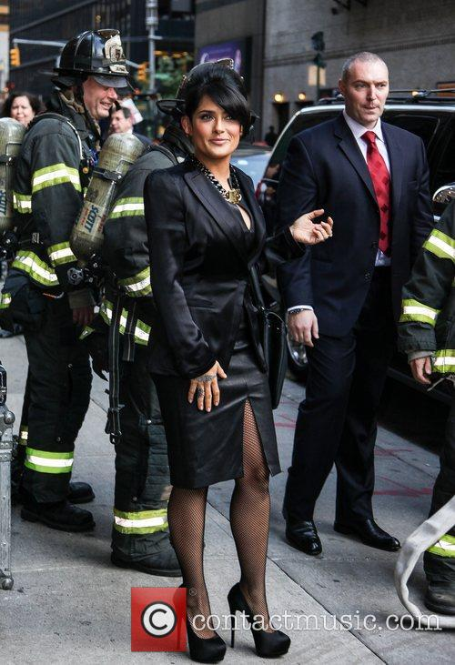 Salma Hayek 'The Late Show with David Letterman'...
