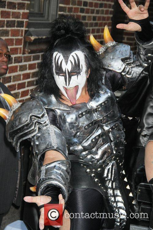 Gene Simmons, Kiss and Ed Sullivan Theatre 3