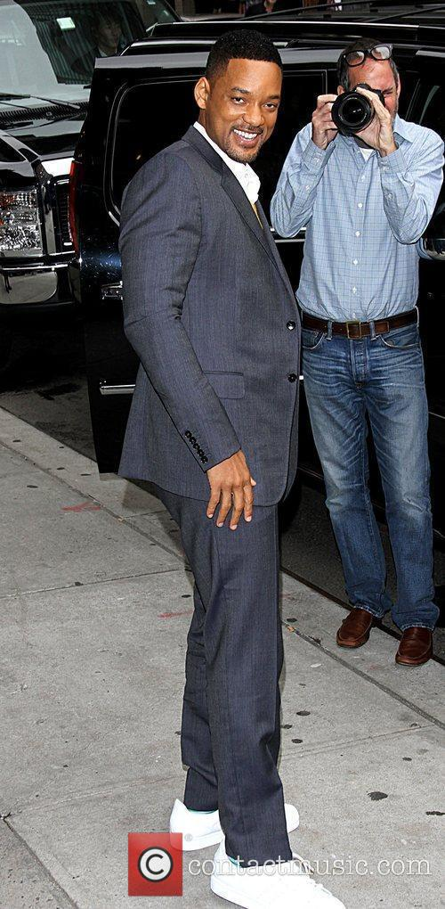Will Smith 'The Late Show with David Letterman'...
