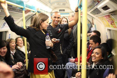 Gets a lesson in tube driving on the...