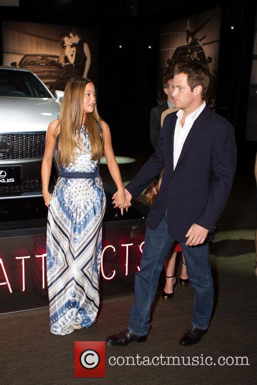 Devon Aoki, James Bailey Lexus unveils the LX460...