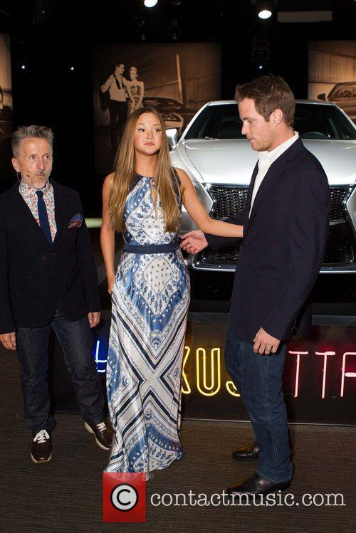 Simon Doonan, Devon Aoki and James Bailey Lexus...