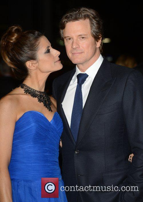 Livia Firth and Colin Firth 56th BFI London...