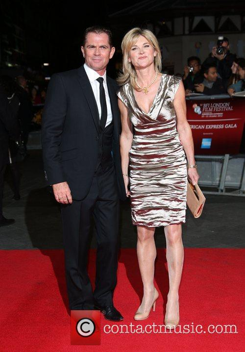 Anthea Turner and Grant Bovey 56th BFI London...