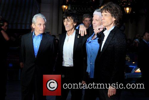Charlie Watts, Ronnie Wood, Keith Richards and Mick Jagger 4