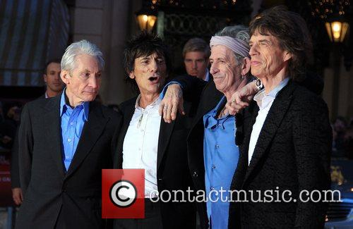 Charlie Watts, Ronnie Wood, Keith Richards and Mick Jagger 5