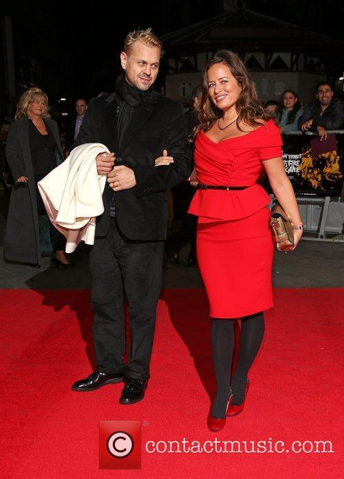 Jade Jagger and husband Adrian Fillary 56th BFI...