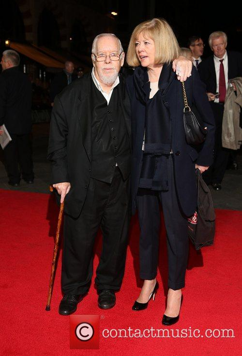 Sir Peter Blake and wife Chrissy Blake 56th...