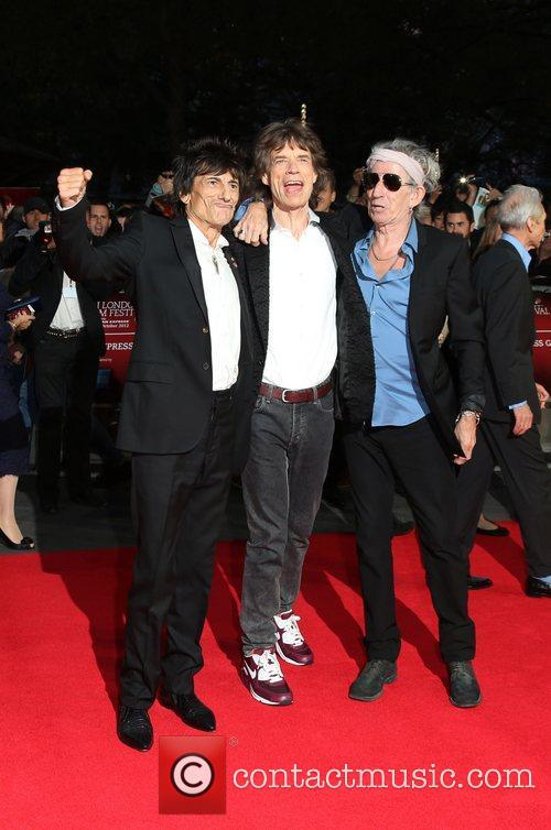 Ronnie Wood, Mick Jagger and Keith Richards 11