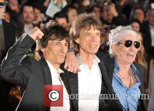 Ronnie Wood, Mick Jagger, Keith Richards and Rolling Stones 1