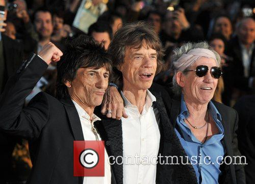 Ronnie Wood, Mick Jagger, Keith Richards and Rolling Stones 2