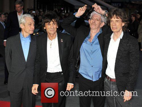 Charlie Watts, Keith Richards, Ronnie Wood, Mick Jagger and Rolling Stones 1