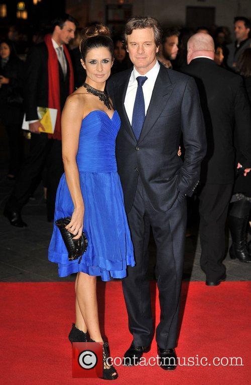 Colin Firth and Livia Giuggioli 5
