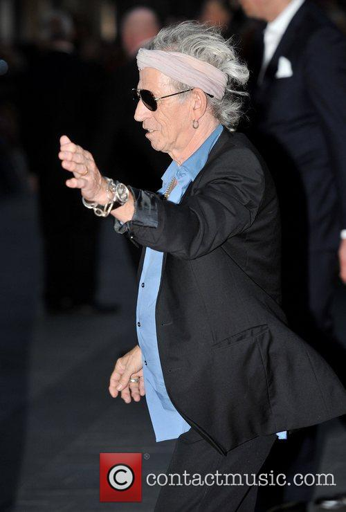 Keith Richards, Rolling Stones and Odeon Leicester Square 4