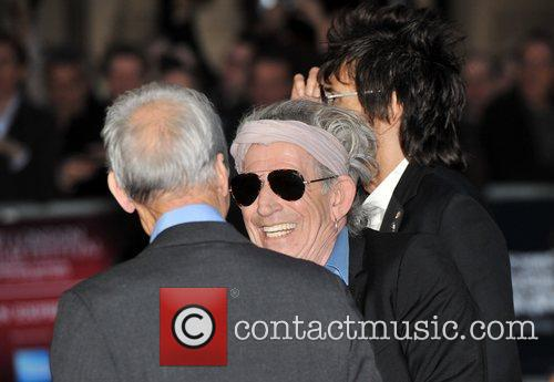 Keith Richards, Rolling Stones, Odeon Leicester Square
