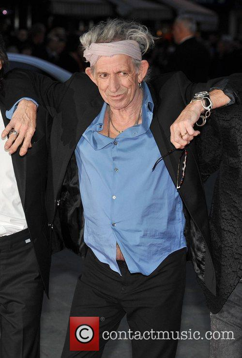 Keith Richards, Rolling Stones and Odeon Leicester Square 1