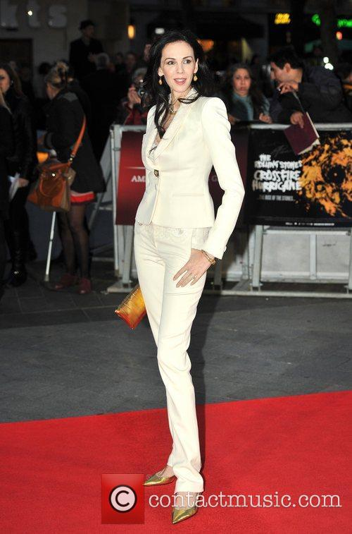 L, Wren Scott and Odeon Leicester Square 5