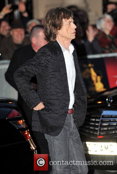 Mick Jagger, Rolling Stones and Odeon Leicester Square 1