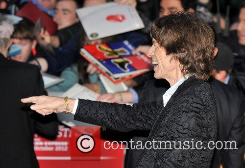 Mick Jagger, Rolling Stones and Odeon Leicester Square 4