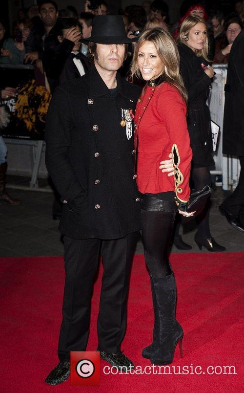Liam Gallagher, Nicole Appleton and Odeon Leicester Square 9