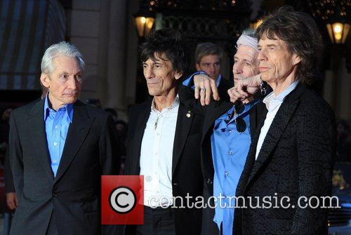 Charlie Watts, Ronnie Wood, Keith Richards, Mick Jagger, Rolling Stones
