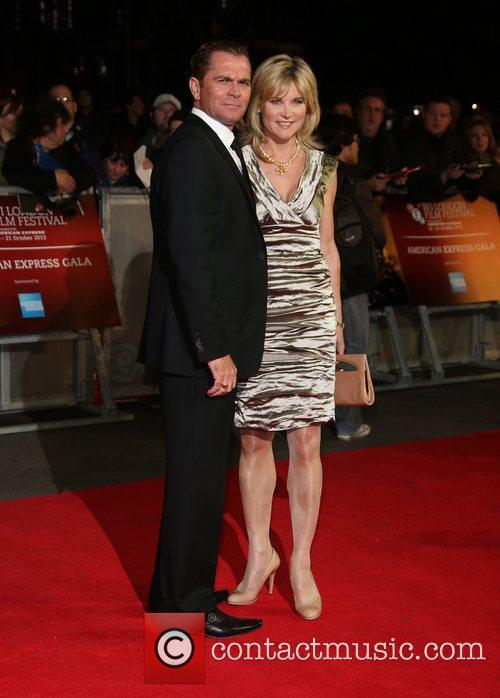Grant Bovey and Anthea Turner 56th BFI London...