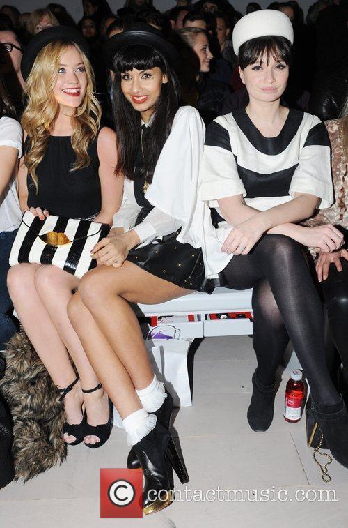 Laura Whitmore, Jameela Jamil and London Fashion Week 5