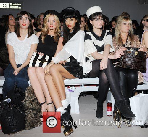 Laura Whitmore, Jameela Jamil, Jo Wood and London Fashion Week 3