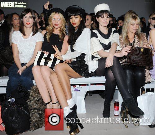 Laura Whitmore, Jameela Jamil, Jo Wood and London Fashion Week 4