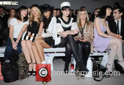 Laura Whitmore, Jameela Jamil, Jo Wood and London Fashion Week 1