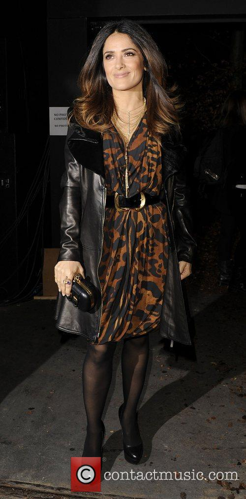 Alexander McQueen Autumn/Winter London Fashion Show - Departures