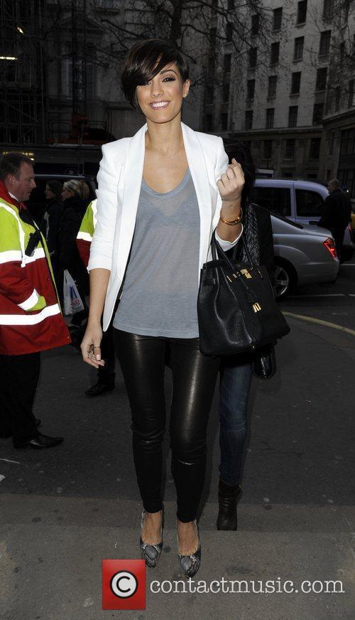 Frankie Sandford London Fashion Week - Autumn/Winter 2012...