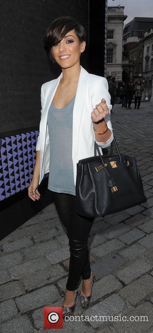 Frankie Sandford and London Fashion Week 4