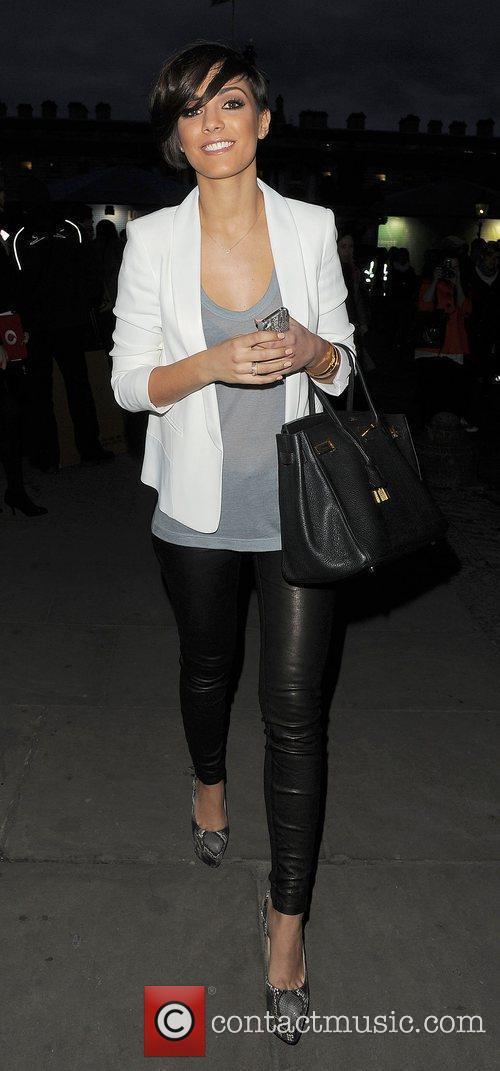 Frankie Sandford and London Fashion Week 5