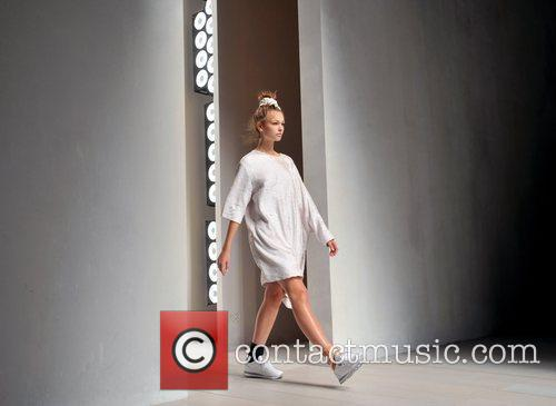 Model  London Fashion Week Spring/Summer 2013 -...