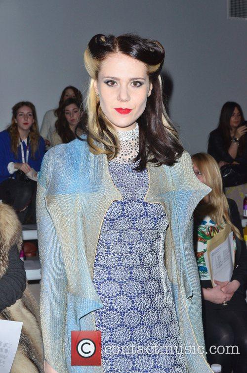 Kate Nash London Fashion Week Autumn/Winter 2012 Ashish...