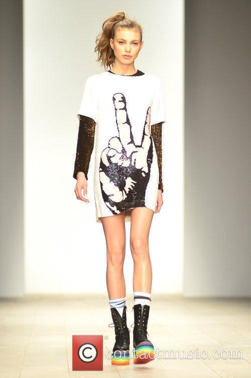 Model, Jodie Harsh and London Fashion Week 3