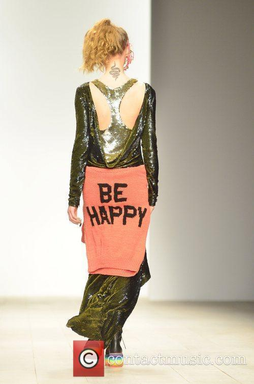 Model, Jodie Harsh and London Fashion Week 5