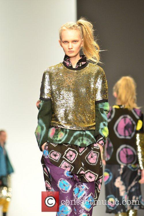 Model, Jodie Harsh and London Fashion Week 1