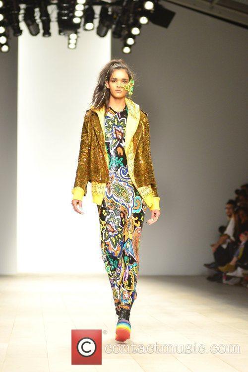 Model, Jodie Harsh and London Fashion Week 7