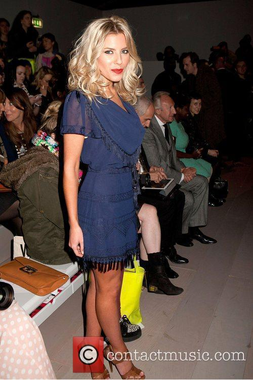 Mollie King and London Fashion Week 4