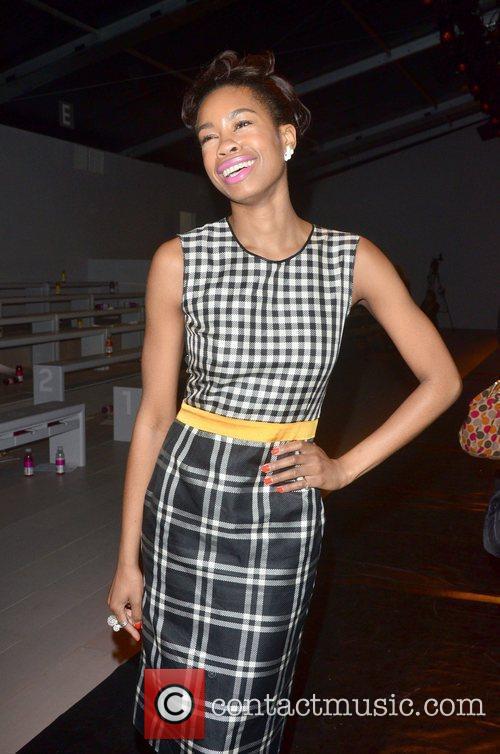 Tolula Adeyemi London Fashion Week Autumn/Winter 2012 Ashish...