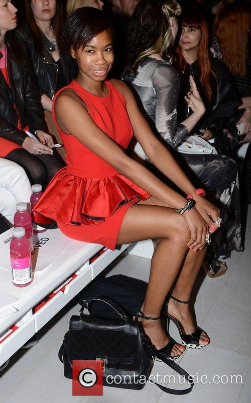 Tolula Adeyemi  London Fashion Week Spring/Summer 2013...