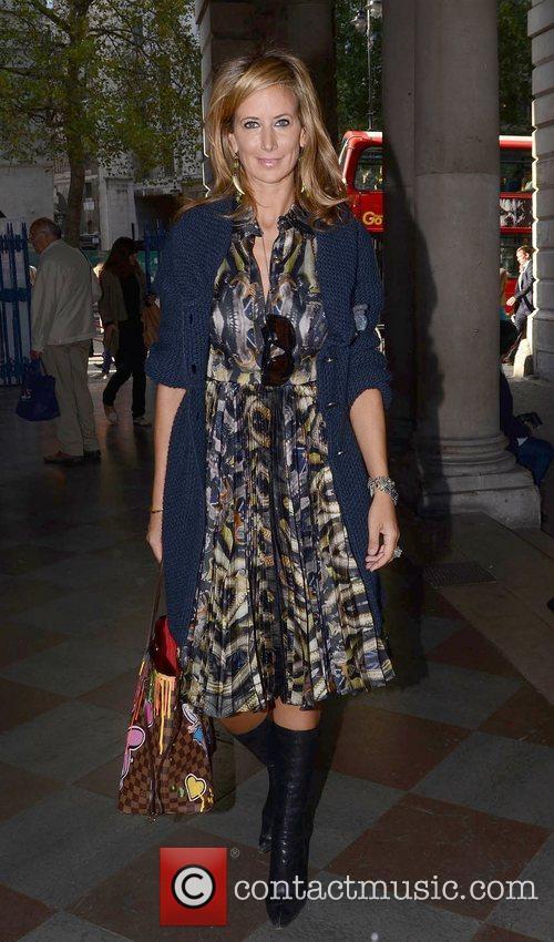 Lady Victoria Hervey London Fashion Week Spring/Summer 2013...