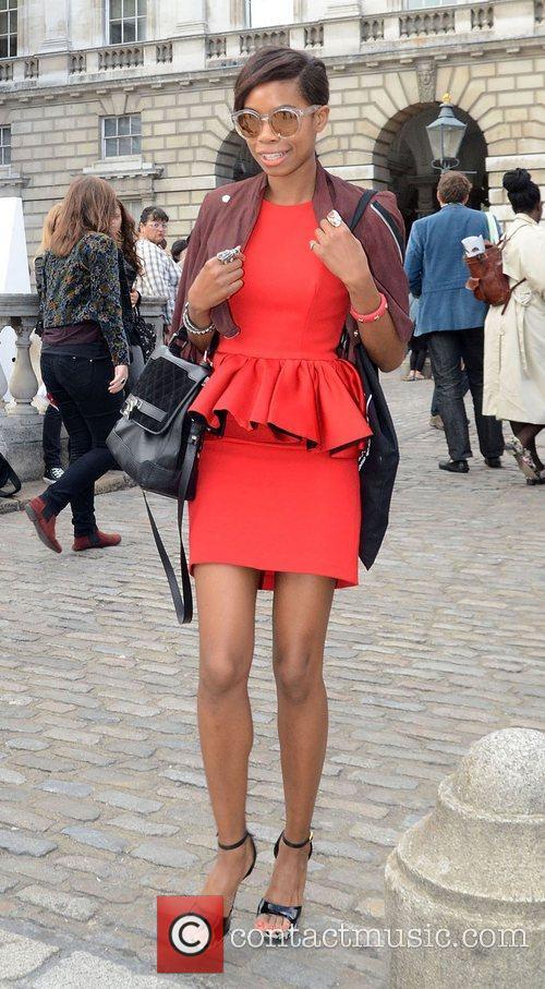Tolula Adeyemi and London Fashion Week 3