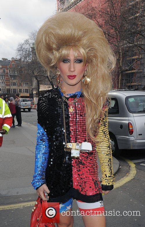 Jodie Harsh and London Fashion Week 8
