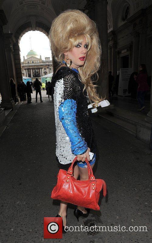 Jodie Harsh and London Fashion Week 1