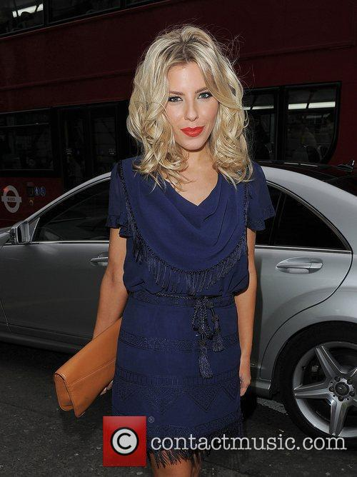 Mollie King and London Fashion Week 3