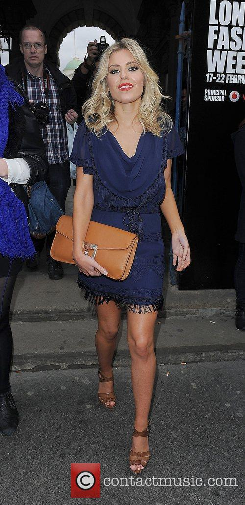Mollie King and London Fashion Week 5