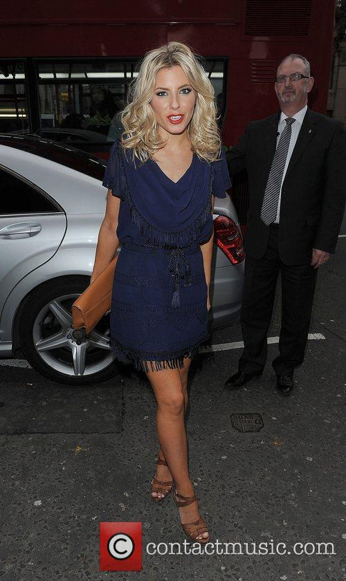 Mollie King and London Fashion Week 6